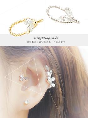 ★이어커프★스윗하트 earcuff