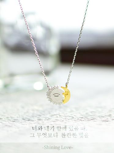 ★핸드메이드★샤이닝러브 necklace