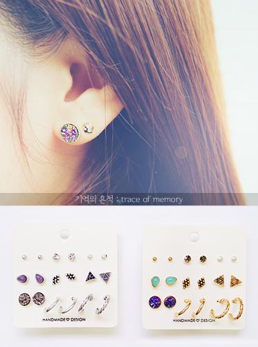 ★핸드메이드★기억의 흔적 earring