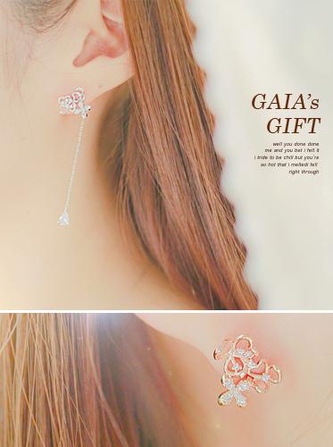 ★실버침★가이아의 선물 earring[투웨이귀걸이][드롭귀걸이]