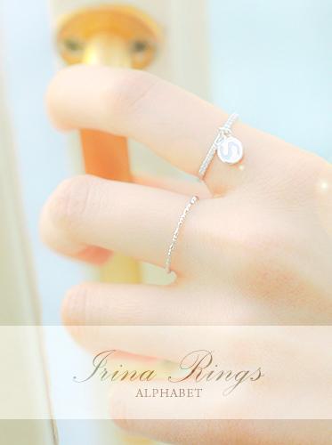 [이니셜/알파벳]아이리나 ring
