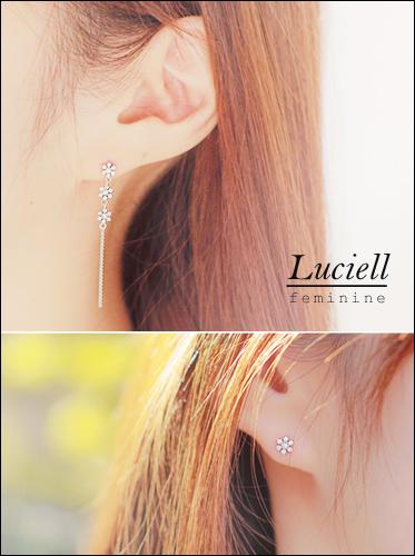 ★실버침★루시엘 earring