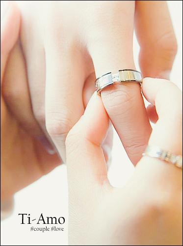 ★써지컬스틸★띠아모 커플 ring