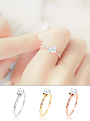 ★FREE SIZE★에스더 오로라 ring
