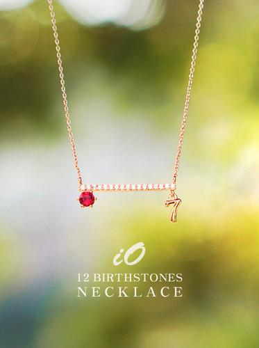 ★12탄생석★아이오 탄생석 necklace