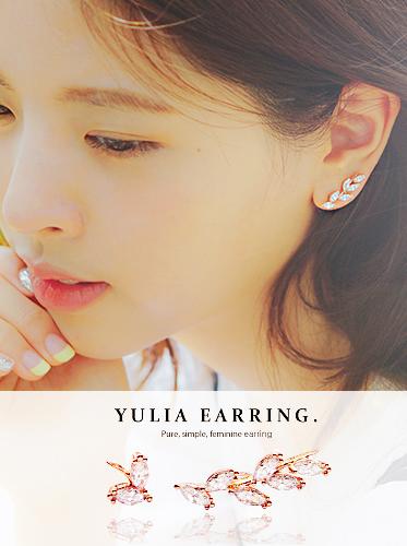 ★실버침★율리아 earring