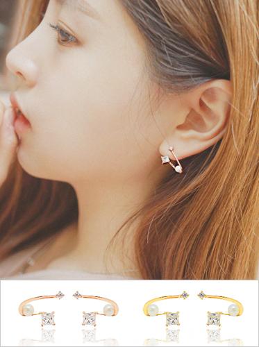 ★실버침★ 리안느 earring