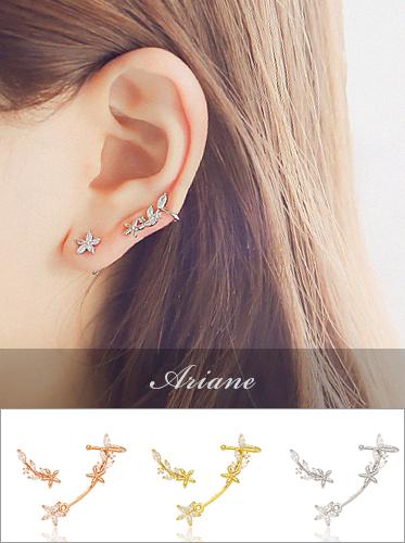 ★실버침★ 아리안느 earring